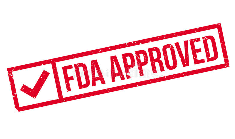 Bollo approvato dalla FDA illustrazione vettoriale