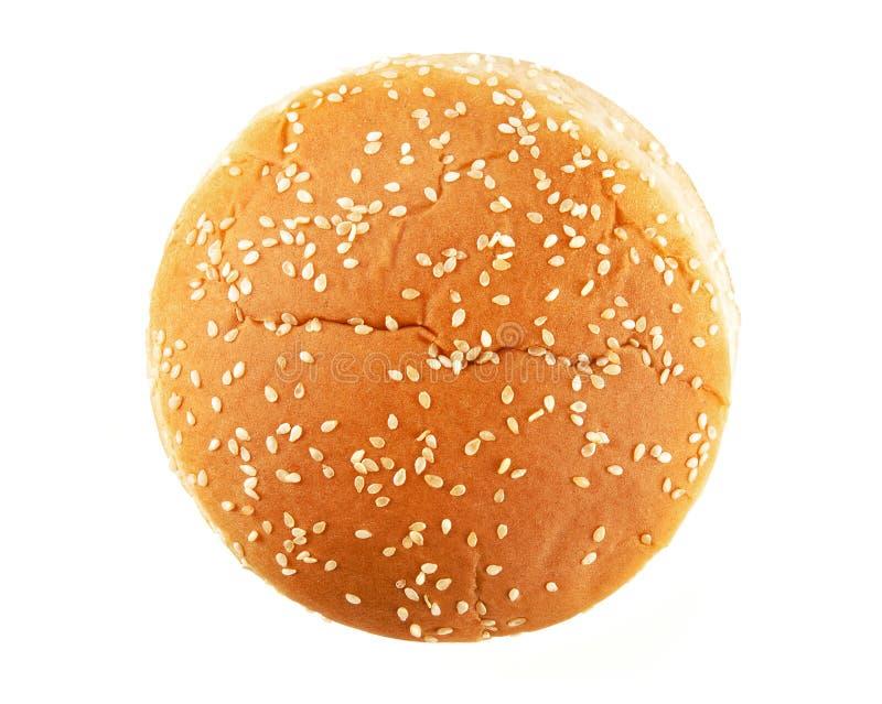 Bollo de hamburguesa fotos de archivo