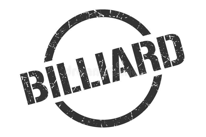 Bollo del biliardo royalty illustrazione gratis