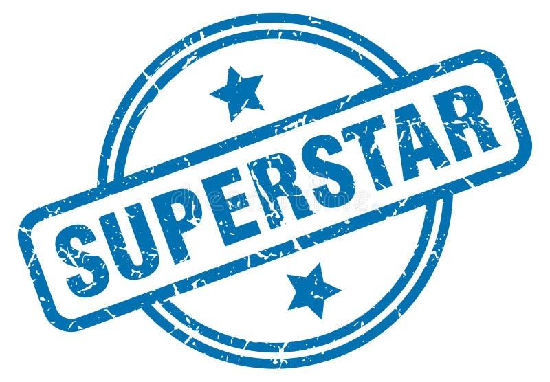 bollo del superstar illustrazione vettoriale