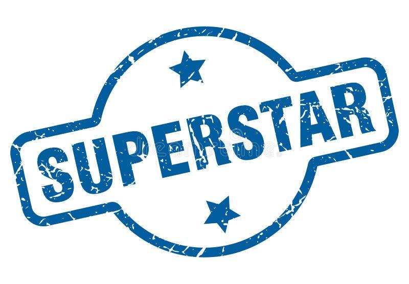 bollo del superstar royalty illustrazione gratis