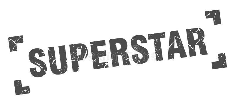 bollo del superstar illustrazione di stock