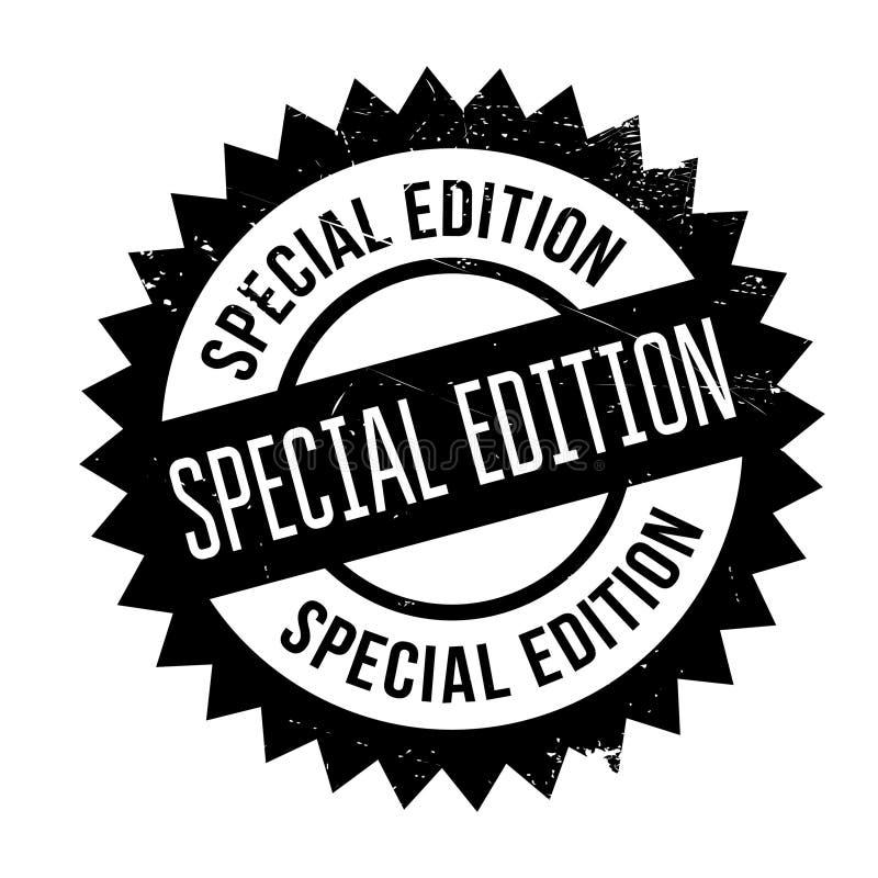 Bollo dell'edizione speciale illustrazione di stock