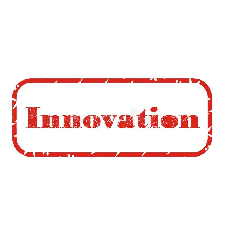 Bollo dell'innovazione immagine stock