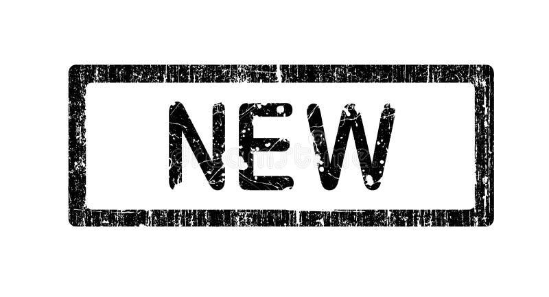Download Bollo Dell'ufficio Di Grunge - NUOVO Illustrazione Vettoriale - Illustrazione di arte, clip: 3133264