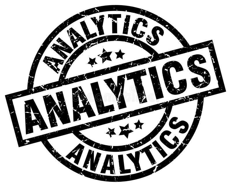 Bollo di analisi dei dati royalty illustrazione gratis