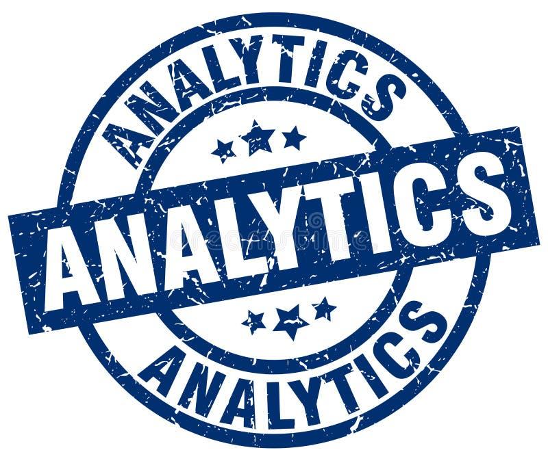 Bollo di analisi dei dati illustrazione vettoriale