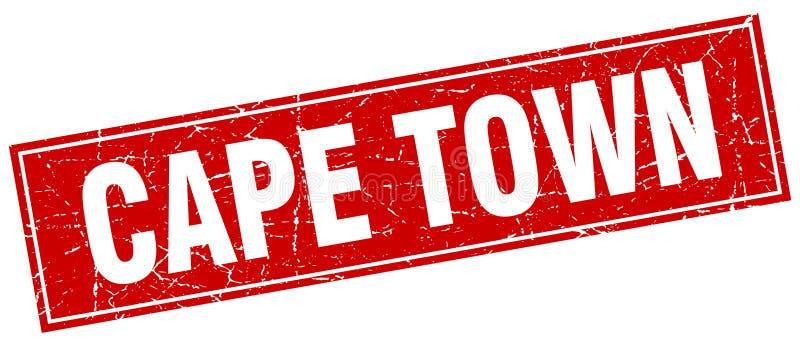 Bollo di Cape Town illustrazione vettoriale