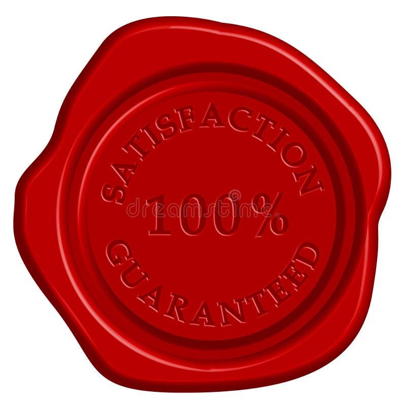 Bollo di garanzia illustrazione di stock