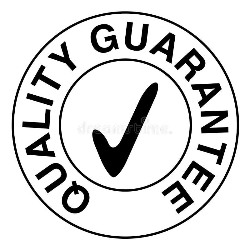 Bollo di garanzia di qualità illustrazione vettoriale