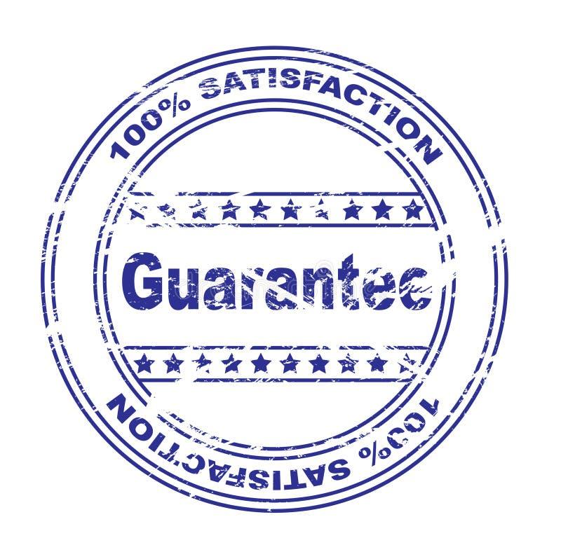 bollo di garanzia di soddisfazione (vettore) illustrazione di stock