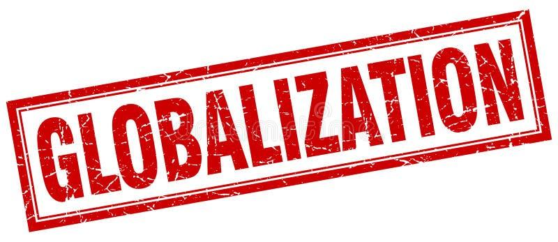 Bollo di globalizzazione royalty illustrazione gratis