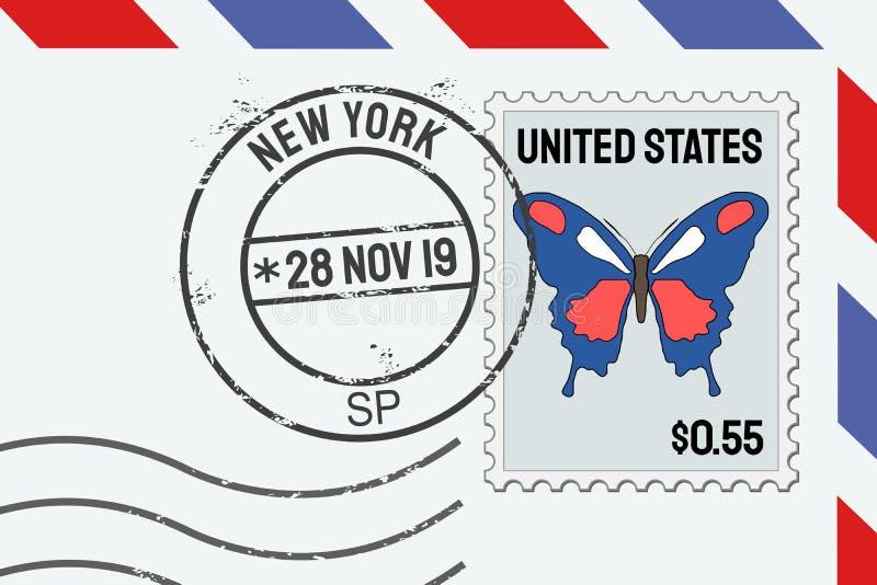 Bollo di New York illustrazione di stock