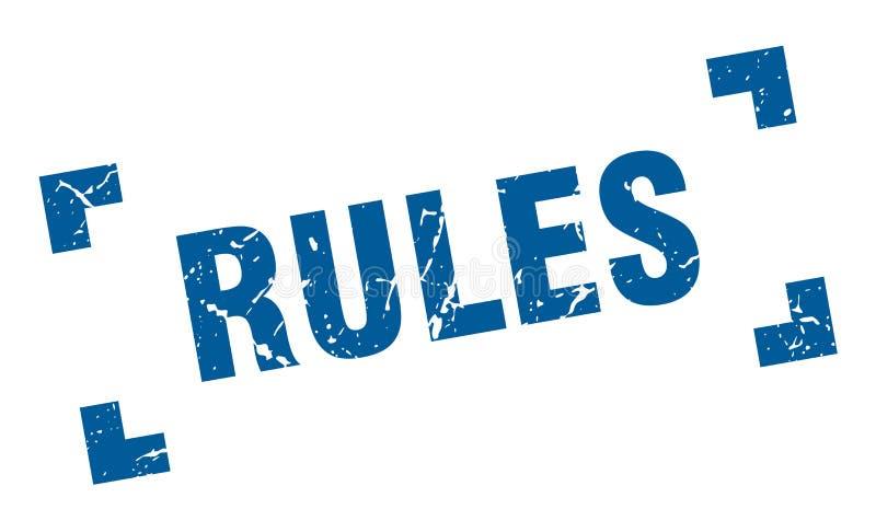 Bollo di regole royalty illustrazione gratis