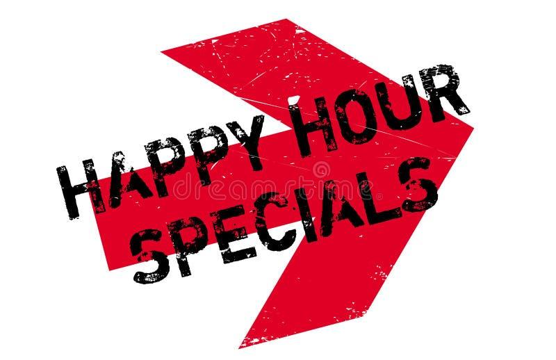 Bollo di speciali di happy hour illustrazione di stock