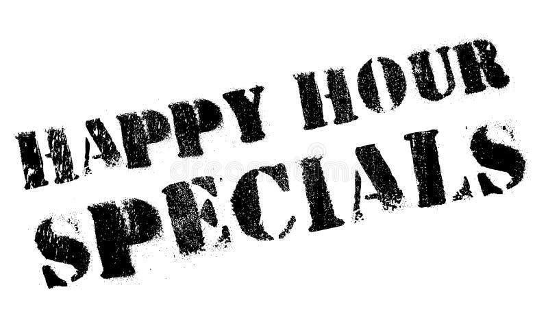 Bollo di speciali di happy hour illustrazione vettoriale