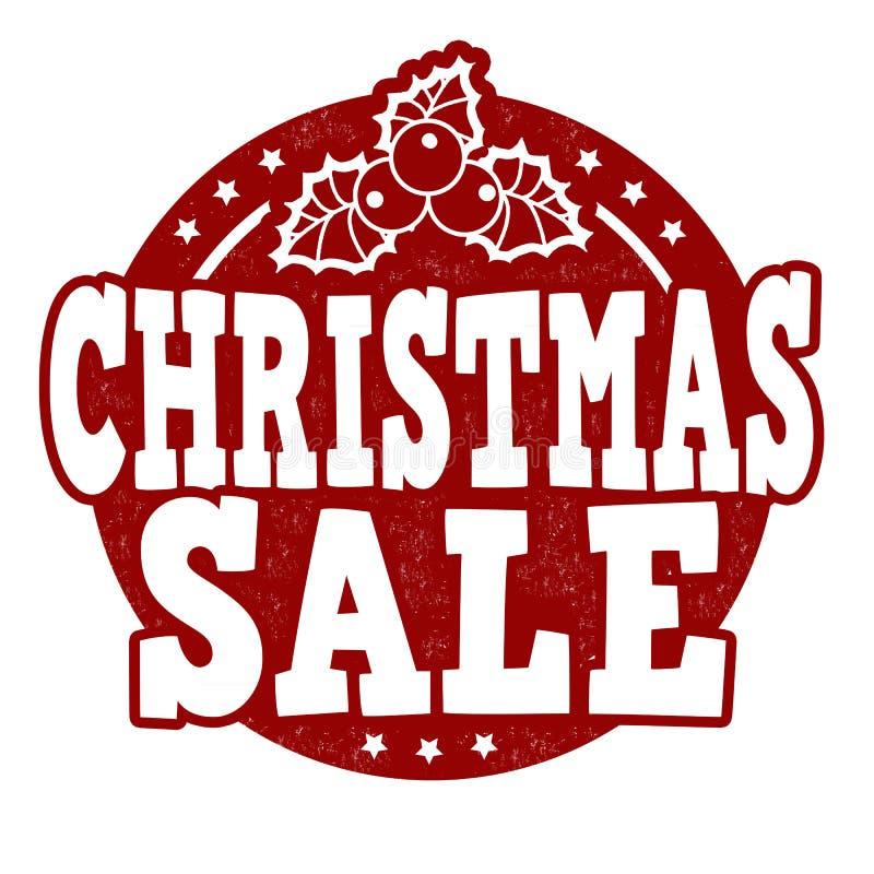 Bollo di vendita di Natale royalty illustrazione gratis