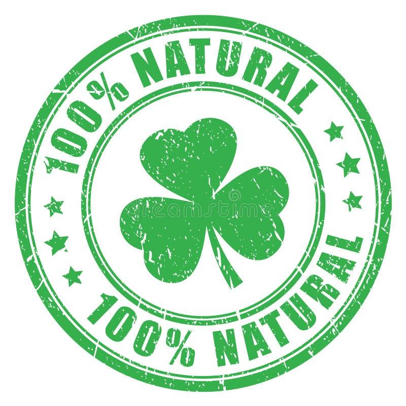 Bollo di verde del prodotto naturale illustrazione vettoriale