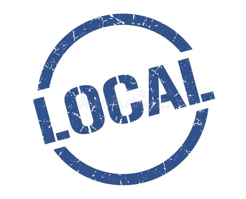 bollo locale illustrazione di stock