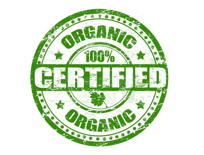 Bollo organico illustrazione di stock