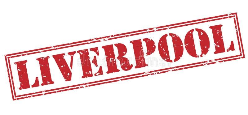 Bollo rosso di Liverpool illustrazione vettoriale