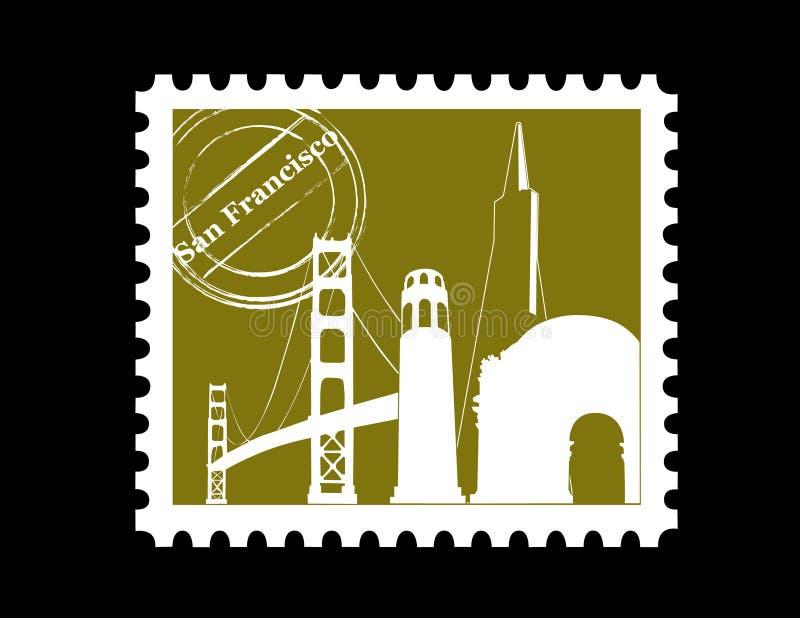Bollo, San Francisco royalty illustrazione gratis