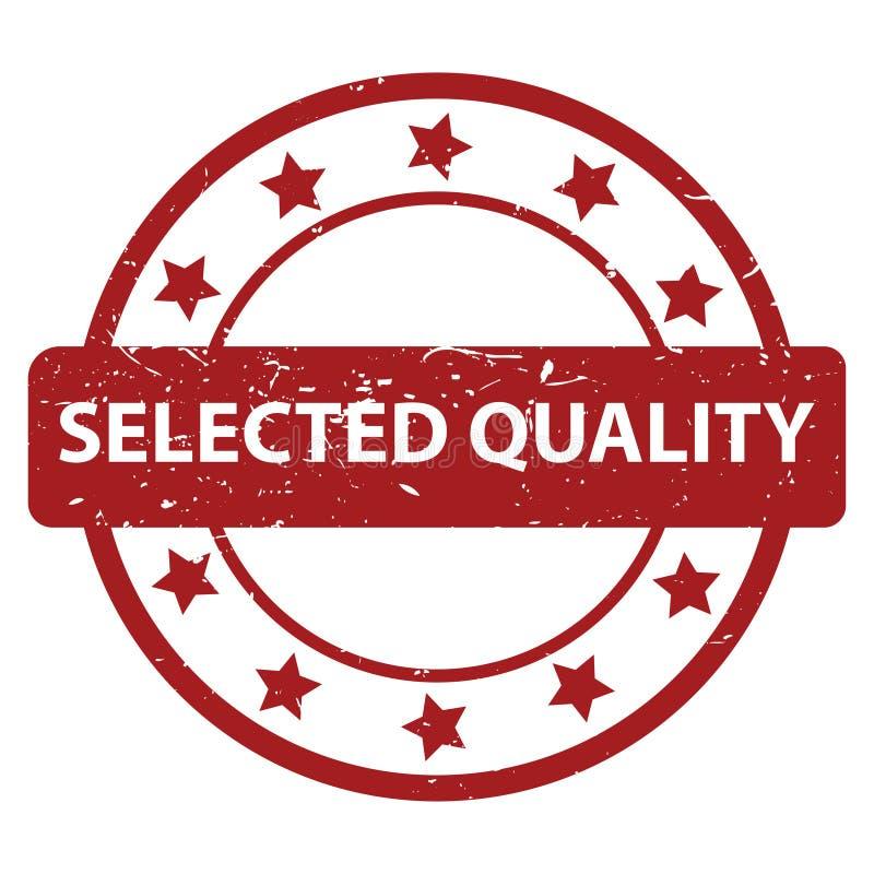 Bollo selezionato di qualità illustrazione di stock