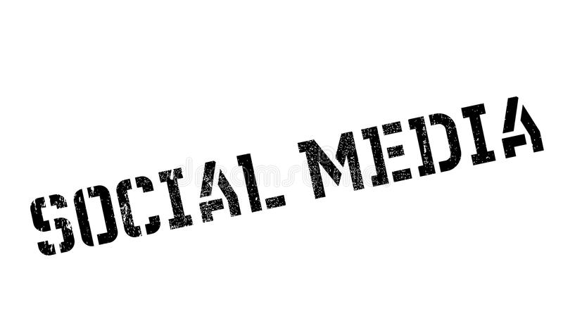Bollo sociale di media royalty illustrazione gratis