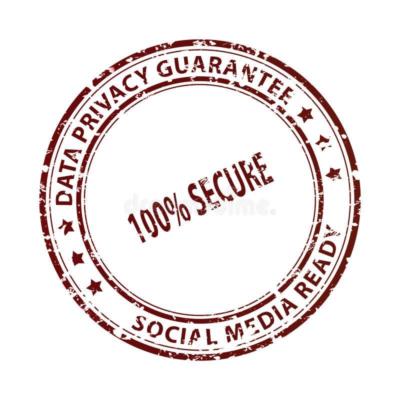 Bollo sociale di media isolato su bianco immagini stock