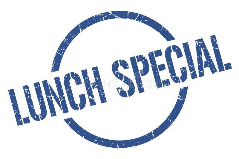 Bollo speciale del pranzo illustrazione vettoriale