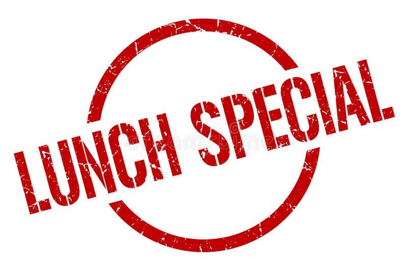 Bollo speciale del pranzo illustrazione di stock