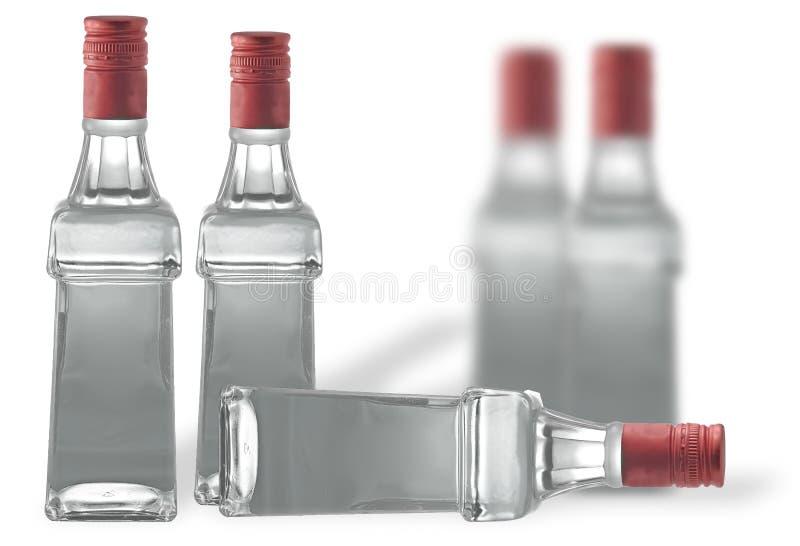 Bolltes de la vodka fotos de archivo libres de regalías