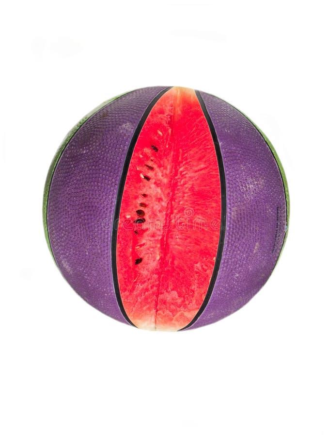 bollvattenmelon fotografering för bildbyråer