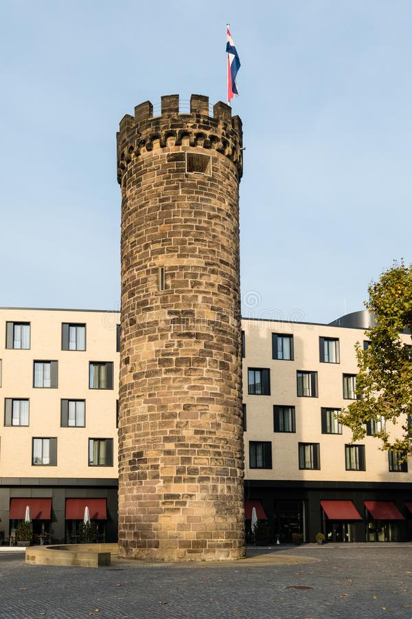 Bollwerksturm en Heilbronn Alemania fotografía de archivo