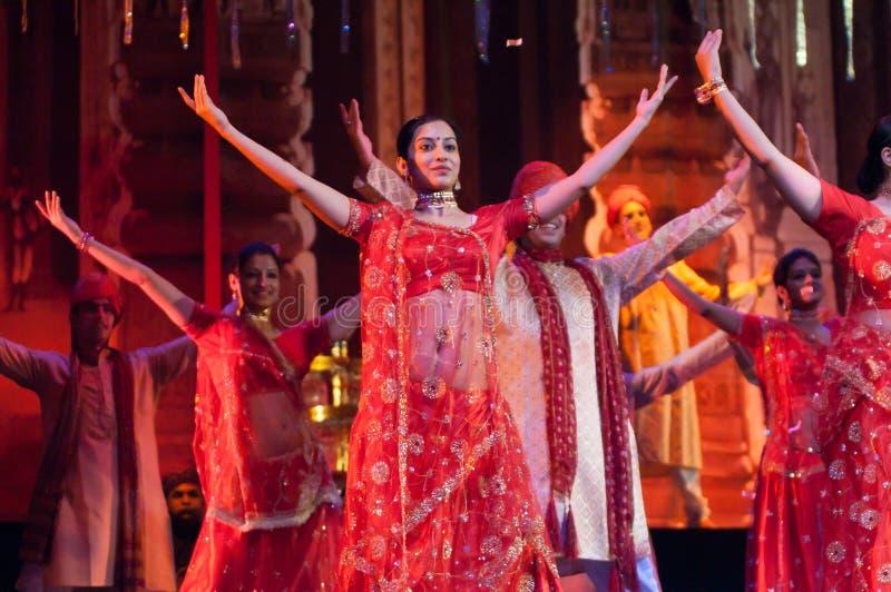 Bollywood arrive à Barcelone avec le musical image libre de droits