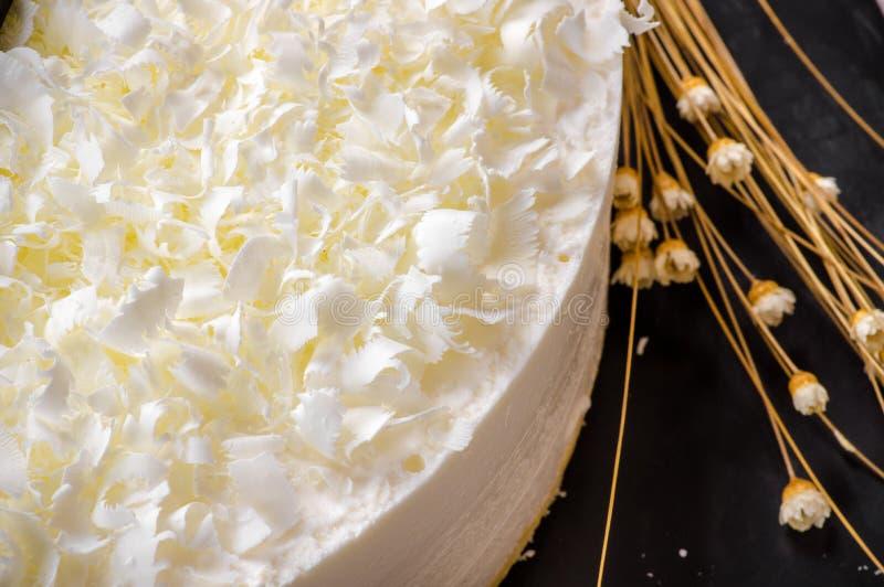 Download Bolo foto de stock. Imagem de chocolate, sabor, aroma - 65580128