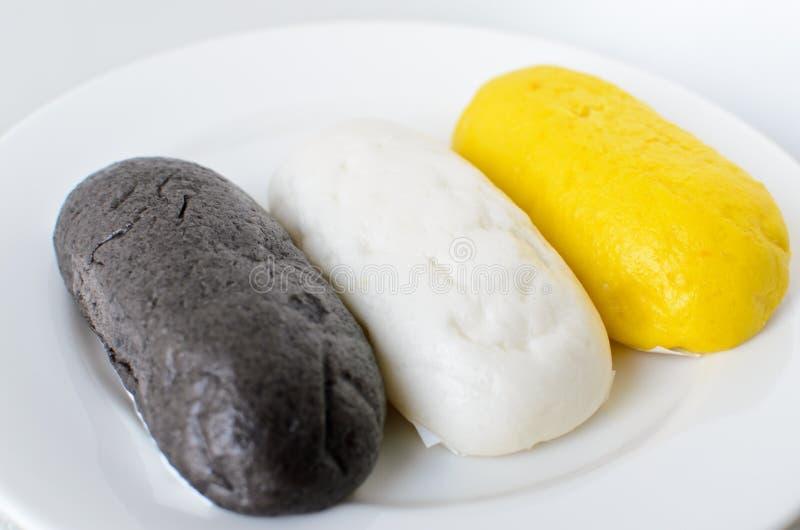 Bolo cozinhado chinês de Mantou imagens de stock