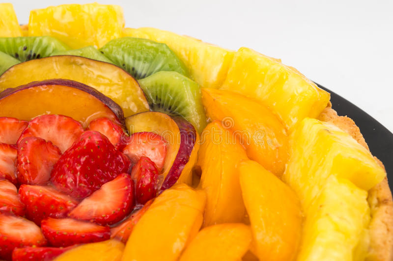 Bolo da fruta foto de stock royalty free