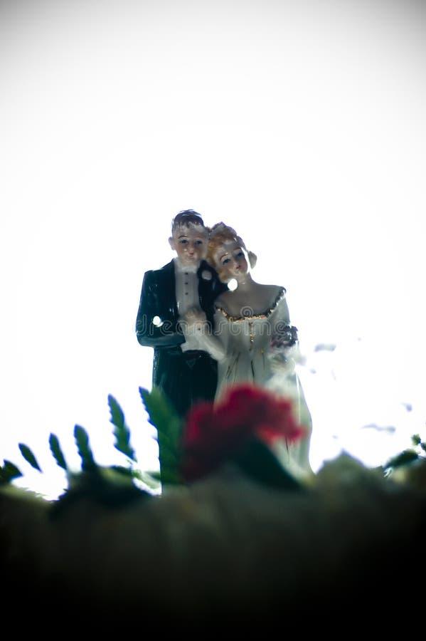 Bolo de casamento fotos de stock royalty free