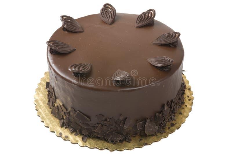 Bolo de chocolate do gourmet imagens de stock royalty free