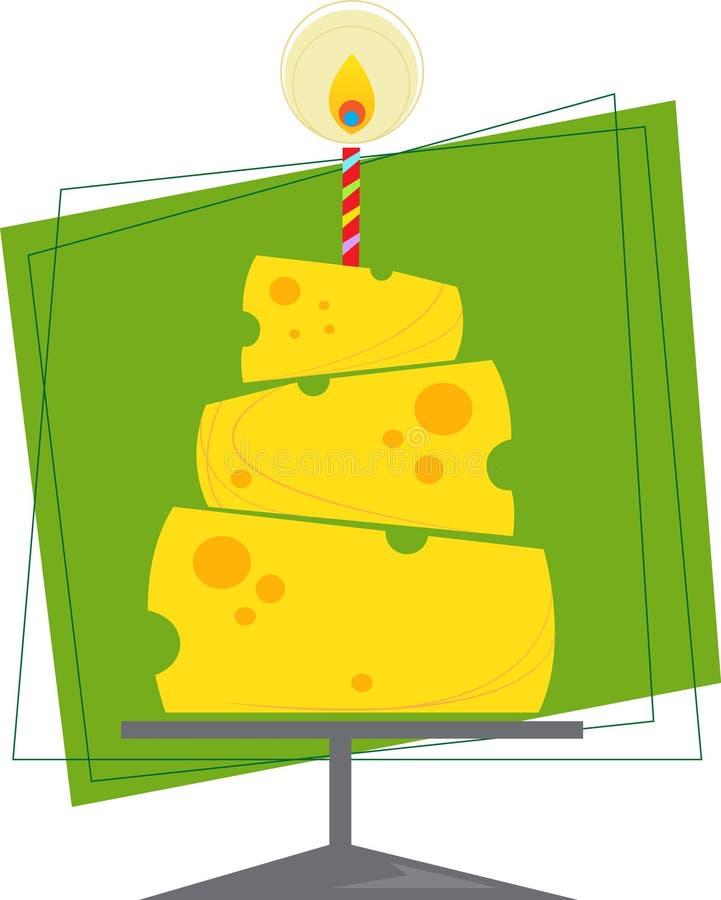 Download Bolo de queijo ilustração do vetor. Imagem de vetor, cartão - 35239517