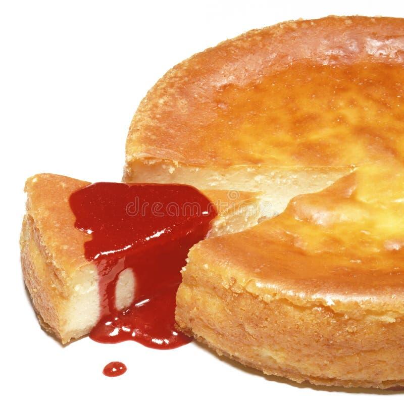 Download Bolo de queijo cortado foto de stock. Imagem de parte - 12805010