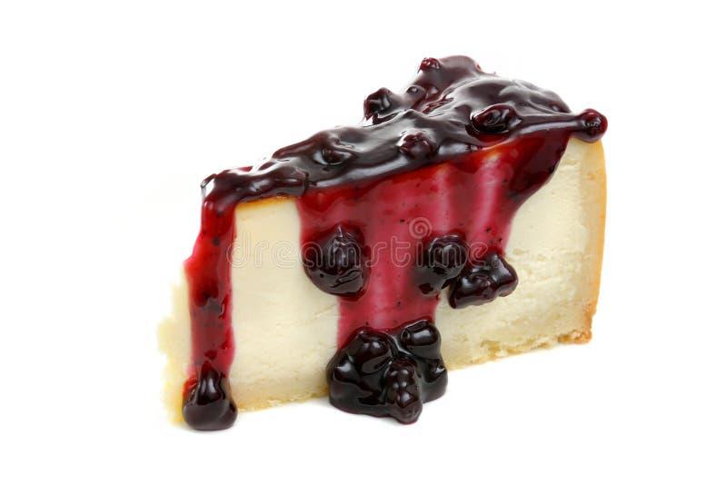 Bolo de queijo de New York foto de stock royalty free