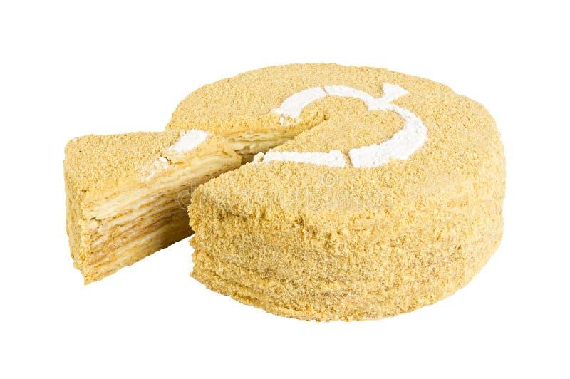 Download Bolo delicioso do biscoito foto de stock. Imagem de alimento - 65578448