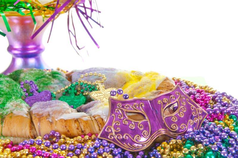 Bolo do carnaval fotos de stock royalty free