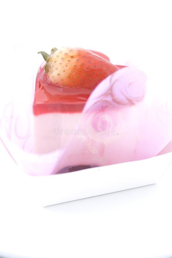 Bolo Heart-shaped 3 imagens de stock royalty free