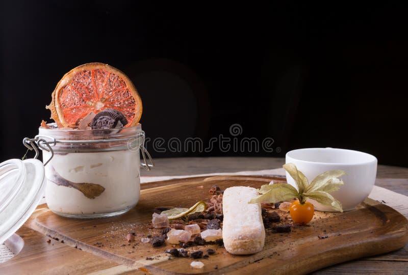 Bolo italiano da sobremesa foto de stock royalty free