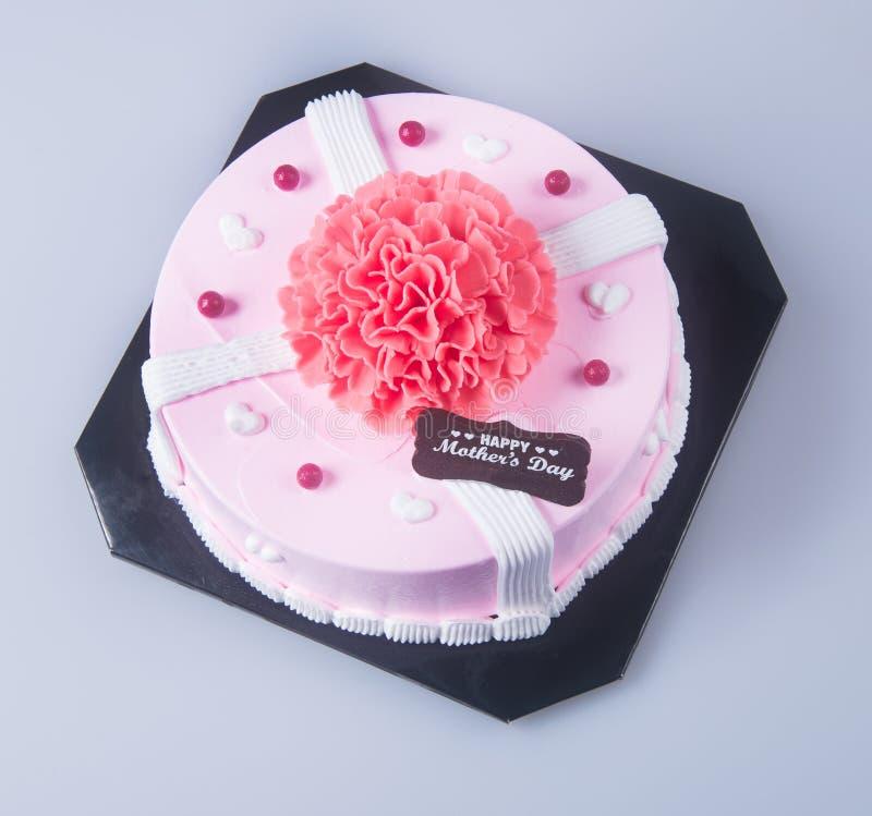 bolo ou bolo de aniversário em um fundo foto de stock royalty free