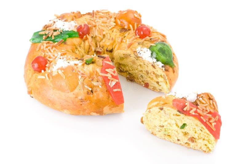 Bolo Rei, le gâteau portugais de Noël photos libres de droits