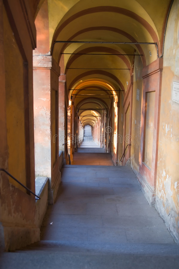 Bologna stock image